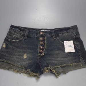 NEW - Free Peoe Jlian Blue Shorts